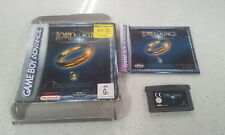 The Lord of The Rings The Fellowship Of The Ring Gameboy Advance GBA Box