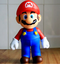 """Super Mario Bros Toy 24cm 9"""" Big Size Red Mario Poseable Action Figures Hot Gift"""
