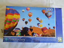 HOT AIR BALLOON FESTIVAL, GALLUP NEW MEXICO 500 PC PUZZLE PUZZLEBUG  (new)