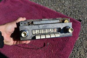1958 Ford Fairlane, Sunliner, Ranchero Push Button Deluxe Radio Original