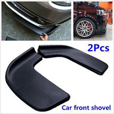 Pair Black Modified Front Shovel Car Racing Universal Bumper Spoiler Protector