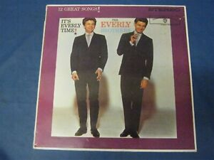 RECORD ALBUM THE EVERLY BROTHERS IT'S EVERLY TIME 3936