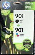 Genuine HP 901 Ink Cartridge Combo for HPJ4540 J4550 J4580 J4680 4500 Printer