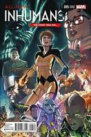All New Inhumans #5 Stefano Caselli Story Thus Far Variant Cover