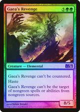 Gaea's Revenge FOIL Magic 2011 / M11 HEAVILY PLD Green Mythic Rare CARD ABUGames