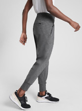 ATHLETA Venice Jogger Pants XSP XS P Black Heather | Grey Yoga Joggers Workout
