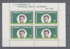 D.Cameroon Block 3 John F.Kennedy (MNH)