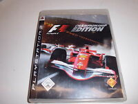 PlayStation 3  PS3  Formula 1 - Championship Edition