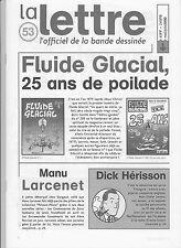 LA LETTRE Dargaud n°53. Fluide Glacial. 2000.  Etat neuf