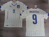 FW14 PUMA XL UN MOYEN ITALIE 9 BALOTELLI TRICOT HAUT COUPE DU MONDE WCUP JERSEY