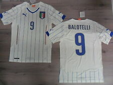 FW14 PUMA S UNA MANERA ITALIA 9 BALOTELLI CAMISETA MUNDIALES WCUP SHIRT JERSEY