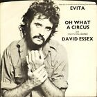 "DAVID ESSEX oh what a circus/high flying adored 6007 185 uk mercury 7"" PS EX/VG+"
