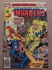 Invaders #35 Marvel Comics 1975 Series Captain America Namor Human Torch