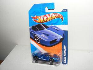 Hot Wheels Nightburnerz FERRARI ENZO, blue, mint in pack