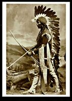 ⫸ 976 Postcard, A Taos Pueblo Chief  –  Photo by Wm Henry Jackson 1875 – NEW