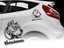 Aufkleber Perro de Presa Canario Dogo Canario H323 Wunschname Auto