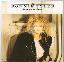 """BONNIE TYLER hide your heart / i'm not foolin' 45T 7"""""""