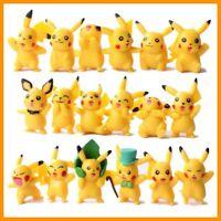 18 Pcs Random Pokemon Pikachu Mini Monster Figures Toy Set USA SELLER