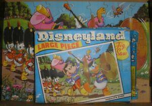 Tower Press Vintage - Disneyland Large Piece Tig saw Puzzle - Donald's Band