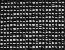 "Black Small weave cane Speaker cab Grill Cloth fabric 29x36"" DIY amp cab"