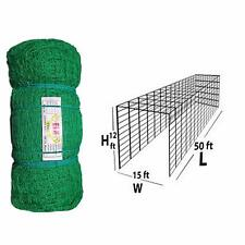Elk Power Nylon Material with Roof Covered 50X12X15 Foot Practice Cricket Net