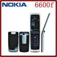 Nokia 6600 Fold - Black (Unlocked) Bluetooth 3G Cellular Phone