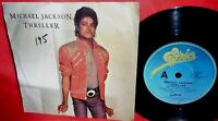 MICHAEL JACKSON Thriller 45rpm 7' + PS 1983 AUSTRALIA MINT-