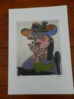 Picasso Pablo Litografia Fondazione Firma Tampone Certificato ex. 200