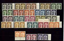 Berlin ex 359 - 433, Heinemann komplett waagrechte Paare**  #a052