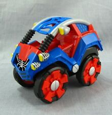 "Spider-Man Car Pull-Back Friction Toy Vehicles 5"" Hasbro 2011 Marvel Web Mobile"