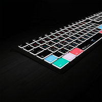 Logic Pro X Keyboard | Fully Backlit Shortcut Keyboard by Editors Keys | NEW