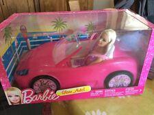 BNIB BARBIE Pink Glam Auto Car DOLL INCLUDED