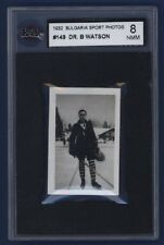 1932 Bulgaria Sports Tobacco Photos Dr. B. Watson #149 KSA 8 NMM Hockey RARE  !!