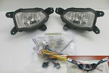 Genuine OEM Front Bumper Fog lamp Light upgrade Kit For Hyundai Kona 2018 2019+