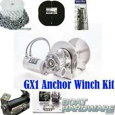 LoneStar GX1COMBOKIT Anchor Winch Combo Kit