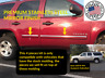 fits AVALANCHE SUBURBAN 07-09 BODY SIDE MOLDING TRIM OVERLAY STAINLESS STEEL