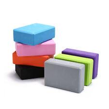 yoga block exercise fitness sport props foam brick stretching aid home pilatesBB