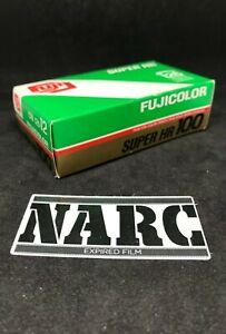 Fuji Super HR 100 ISO 126mm Expired film fuji kodak agfa pocket lomo