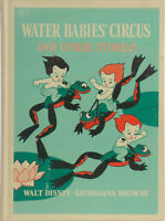 Vintage Walt Disney WATER BABIES CIRCUS & Other Stories Snow White Book