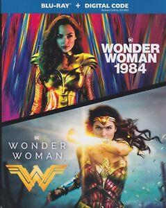WONDER WOMAN & WONDER WOMAN 1984 2 MOVIE BLURAY & DIGITAL SET with Gal Gadot