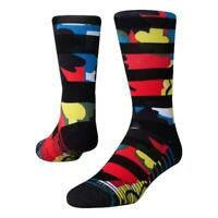 Stance Neuf Homme Cortino Chaussettes Crew - Noir - Neuf