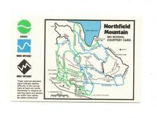 USA - Massachusetts - Northfield Mountain Ski School Courtesy Card
