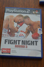Fight night Round 3, PS2, good condition, complete, tested, Playstation 2