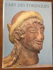 L'ART DES ETRUSQUES - Collection ATLANTIS - 1955 - éditions BRAUN Paris