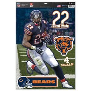 Chicago Bears Matt Forte 11x17 Multi Use Ultra Decal Set [NEW] Sticker Emblem