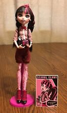 Monster High Draculaura Newspaper Club Fashion Pack Outfit & Doll Complete HTF