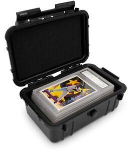 CM Graded Card Case Storage Box for 6 BGS 8 PSA Sports Trading Cards Slab Holder