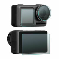 Tempered Glass Lens & Flash Protector Film Protective For DJI OSMO Action Camera