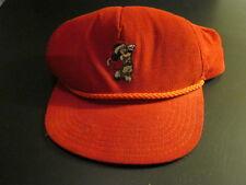 Vintage Disney Mickey Golfer Cap
