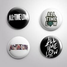 4 ALL TIME LOW - Pinbacks Badge Button Pin 25mm 1''
